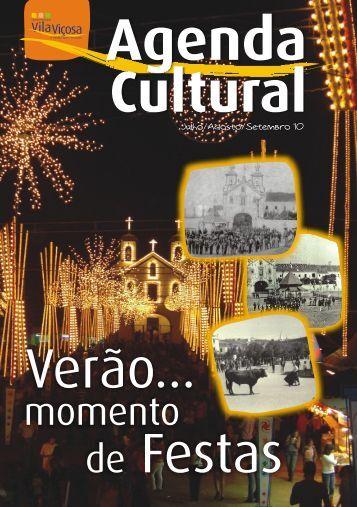 Agenda Cultural:Julho, Agosto, Setembro 2010.pdf - O Portal do ...