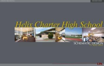 SCHEMATIC DESIGN - Helix Charter High School