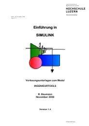 Einführung in SIMULINK - stuber.info