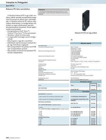 Ipari PC-k - Phoenix Contact