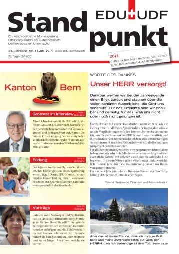 Kanton Bern - EDU Schweiz