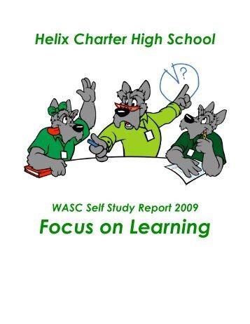 WASC Report 2009 - Helix Charter High School