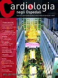 Cardiologia negli Ospedali n° 178 Novembre/Dicembre 2010 - Anmco