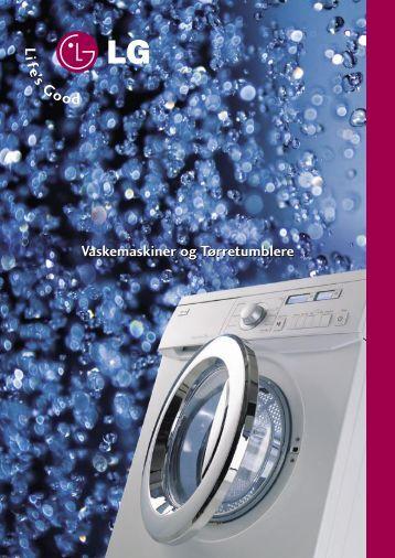 Vaskemaskiner og Tørretumblere Vaskemaskiner og ... - Lomax