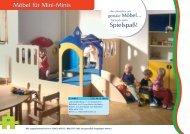 Möbel für Mini-Minis Spielspaß! - Elementarbereich-Roth