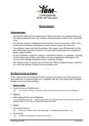 Musterstatuten (PDF) - Turnverband Bern Mittelland