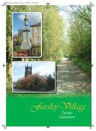 Farsley Village Statement