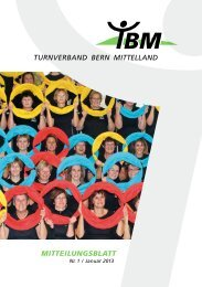 Mitteilungsblatt Nr. 1/2013 (PDF) - Turnverband Bern Mittelland