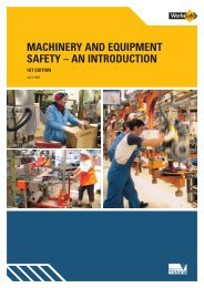 Machinery and Equipment Safety - An Introduction - WorkSafe Victoria