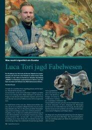 Luca Tori jagd Fabelwesen - Magazin BrauCHtum