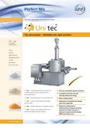 Perfect Mix – Uni tec - MTI Mischtechnik International GmbH
