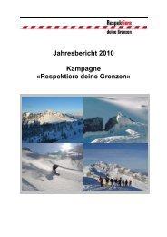 RdG Newsletter September 2009 - Respektiere deine Grenzen