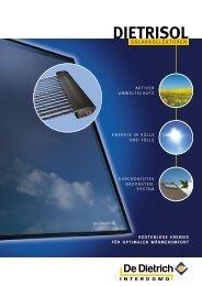Endkundenprospekte : DIETRISOL Solarkollektoren