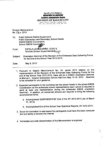 Download memo deped baguio city divisionbaguio city to view the memo as pdf deped baguio city division fandeluxe Image collections