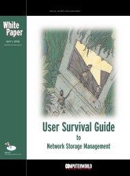 User Survival Guide to Network Storage ... - Computerworld