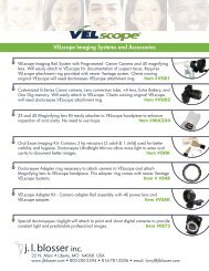 VELscope Imaging Systems and Accessories - JLBlosser.Com