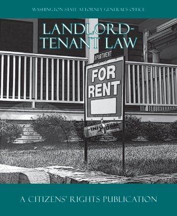 Landlord- Tenant Law - Okanogan County