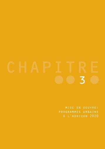 programmes urbains à l'horizon 2020 - Etat de Genève