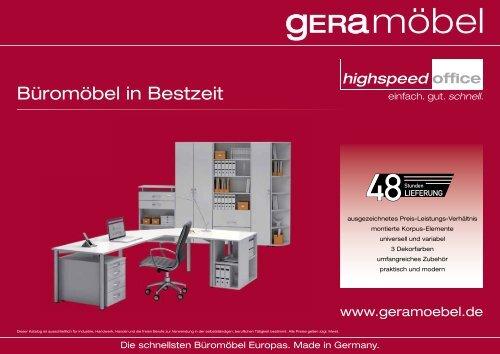 Gera M/öbel S-342001-LG Regal Mailand 2 OH mit Standf/ü/ßen 40 x 40 x 75,2 cm lichtgrau