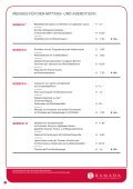 MENUES FÜR DEN MITTAGS- UND ... - Ramada Nürnberg Parkhotel - Seite 4