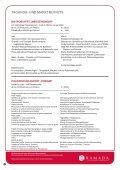 MENUES FÜR DEN MITTAGS- UND ... - Ramada Nürnberg Parkhotel - Seite 6