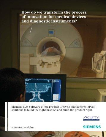 Transforming the Medical Product Design Process - Acuityinc.com