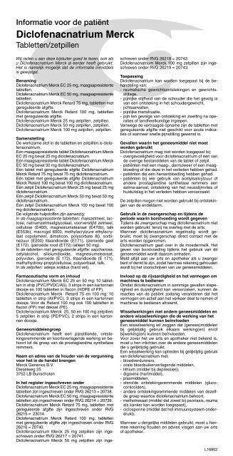 Diclofenacnatrium Merck Mylan Bv