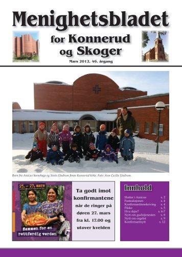 Menighetsbladet 01/12 - Den norske kirke i Drammen