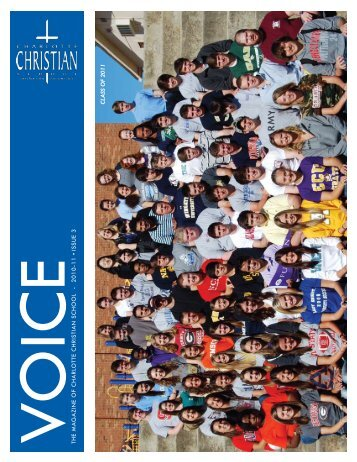 2010-11 ISSUE 3 Class of 2011 - Charlotte Christian School
