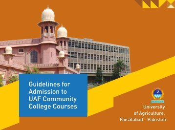 Guidelines for Admission to UAF Community College Courses