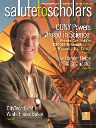 Salute to Scholars all again - CUNY