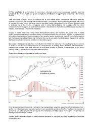 Il Price oscillator è un indicatore di momentum, chiamato anche ...