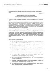 Kleine Anfrage vom 24.04.2012 - Klaus-Peter Bachmann