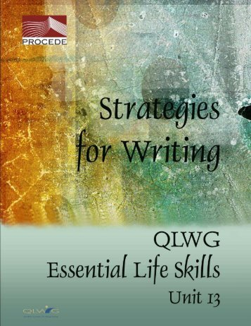 Strategies for Writing - Learn