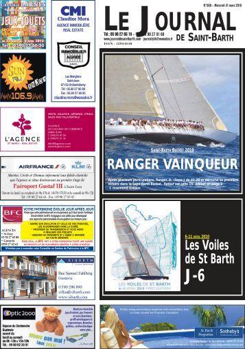 Jsb 30 mars 2011 n - Le journal de saint barth ...