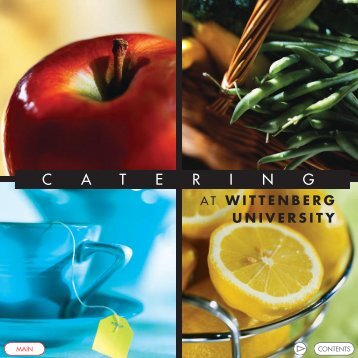 CA TERING - Wittenberg University
