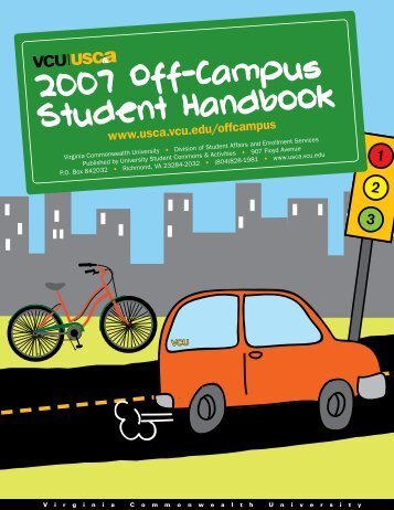 2007 Off-Campus Student Handbook - University Student Commons ...
