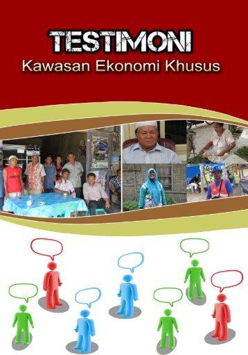 Testimoni Kawasan Ekonomi Khusus