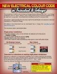 Summary of New Electrical Wiring Colour Code - Trinidad & Tobago
