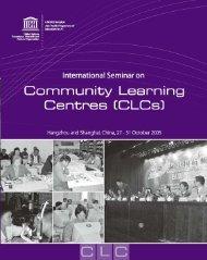 CLCs - UNESCO Bangkok