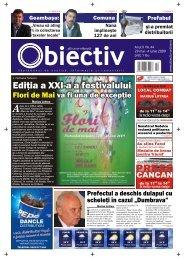 Ediþia a XXI-a a festivalului - Obiectiv