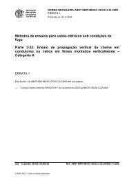 NM-IEC 60332-3-22:2004 - ABNT