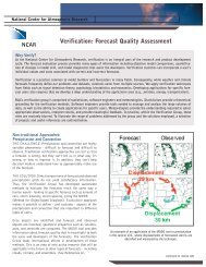 Verification: Forecast Quality Assessment - RAL