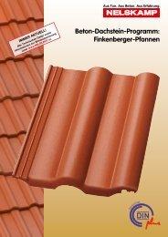 Beton-Dachstein-Programm: Finkenberger-Pfannen - Nelskamp