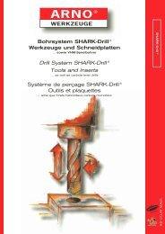 Bohrsystem SHARK-Drill® Werkzeuge und Schneidplatten Drill ...