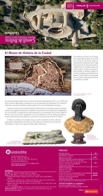 El Museo de Historia de la Ciudad Castellano