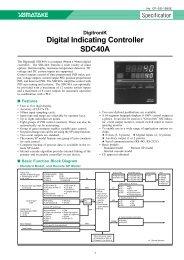 DigitroniK Digital Indicating Controller SDC40A