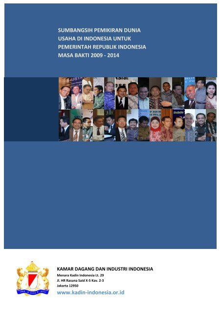 roadmap pembangunan ekonomi indonesia 2009 ... - (H2AL) Kadin