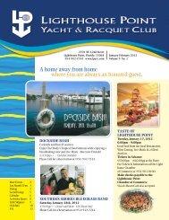 Jan/Feb 2012 - Lighthouse Point Yacht and Racquet Club