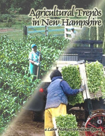 Agriculture Trends in New Hampshire